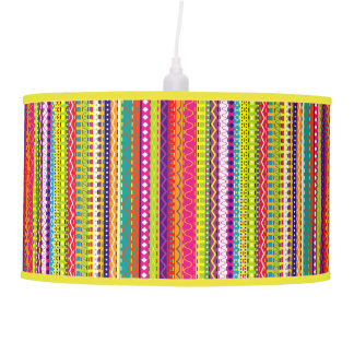 Go Bold, Bohemian, Avant-Garde Pendant Lamp