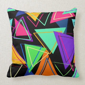 Go Bold, Bohemian, Avant-Garde Throw Pillow