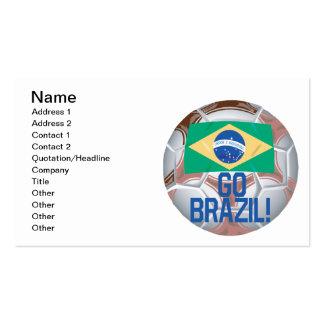 Go Brazil Business Card