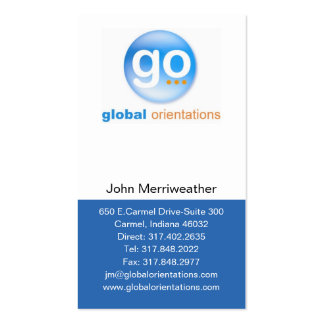 Driving direction business cards templates zazzle for Go business cards