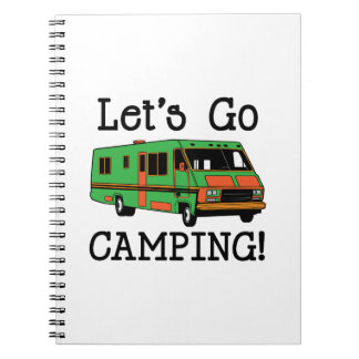 Go Camping Notebook