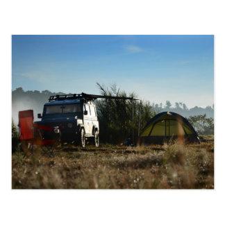 Go Camping Postcard