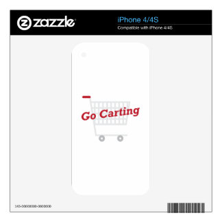 Go Carting Skins For iPhone 4