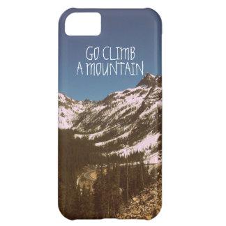 Go Climb A Mountain Case For iPhone 5C