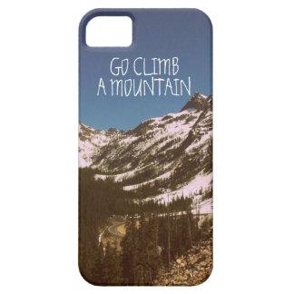 Go Climb A Mountain iPhone SE/5/5s Case