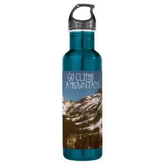 Go Climb A Mountain Water Bottle