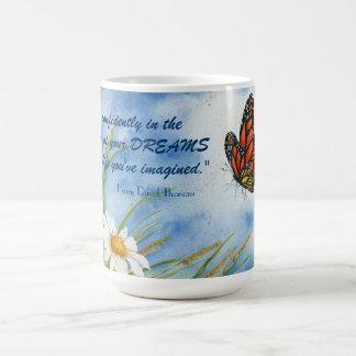 Go Confidently..... - Butterfly Mug