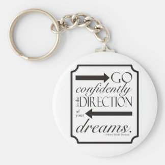 Go Confidently Key Chains
