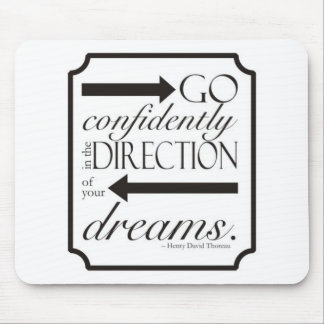 Go Confidently Mouse Pad