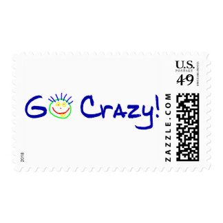 Go Crazy Postage Stamps