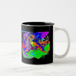 Go Crazy Two-Tone Coffee Mug