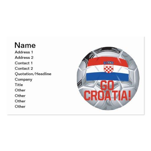 Go Croatia Business Card Templates
