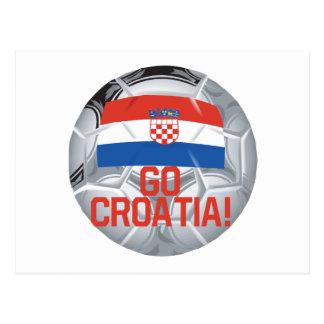 Go Croatia Postcard