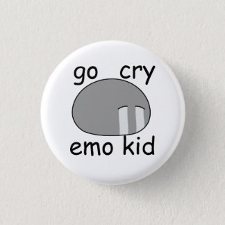 Go Cry Emo Kid Dango Button
