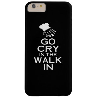 GO CRY IN THE WALK IN BARELY THERE iPhone 6 PLUS CASE