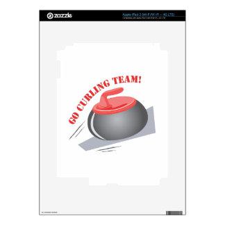Go Curling Team iPad 3 Skins