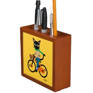 Go Cycling Desk Organizer