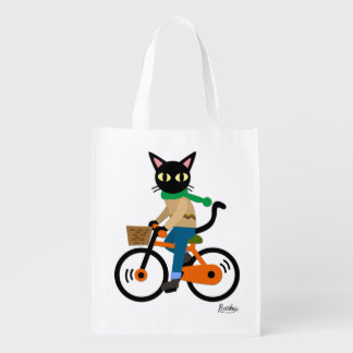 Go Cycling Reusable Grocery Bag
