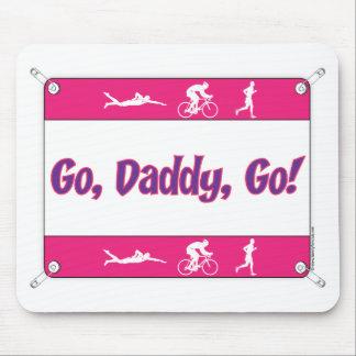 Go Daddy Go - Triathlon Mouse Pad