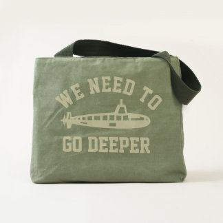 Go Deeper Tote