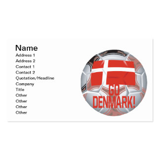 Go Denmark Double-Sided Standard Business Cards (Pack Of 100)