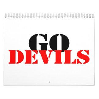 Go Devils Calendar