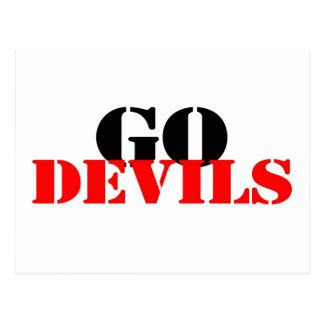 Go Devils Postcard