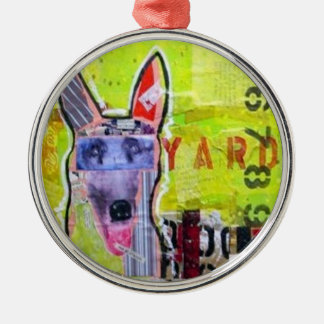 Go Dog - Junk Yard Metal Ornament
