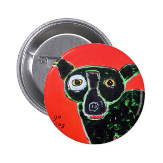 Go Dog Red Pinback Buttons