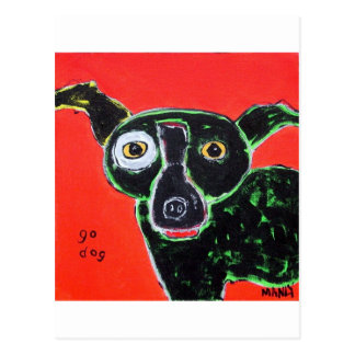 Go Dog Red Post Cards