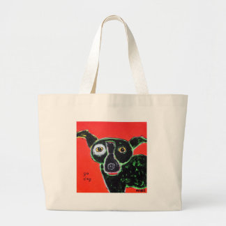 Go Dog Red Tote Bags