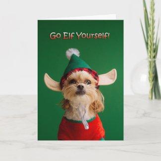 Go Elf Yourself Card