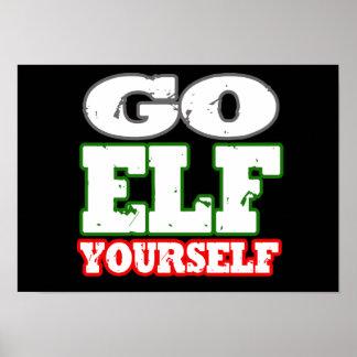GO ELF YOURSELF POSTERS
