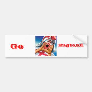 Go England Bumper Stickers