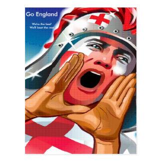 Go England Postcard