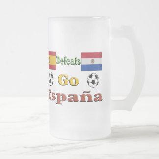 Go España Frosted Glass Beer Mug