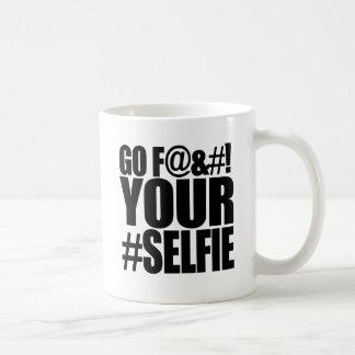 GO F YOUR SELFIE! CLASSIC WHITE COFFEE MUG