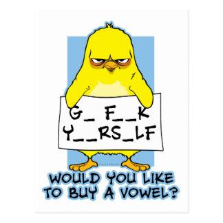 Go F Yourself Postcard