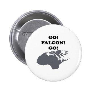Go Falcon Go 2 Inch Round Button