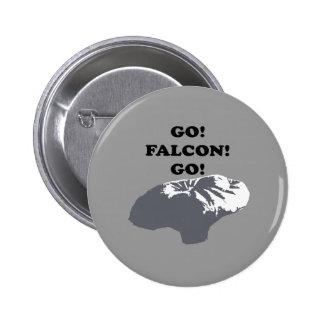 Go Falcon Go Pinback Button
