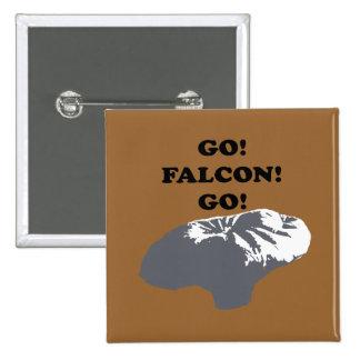 Go Falcon Go Pins