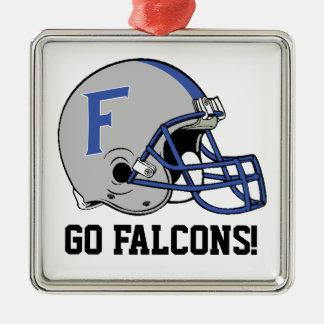 Go Falcons Ornament