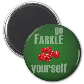 Go Farkle Yourself Magnets