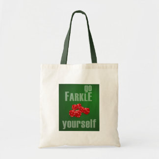 Go Farkle Yourself Tote Bag