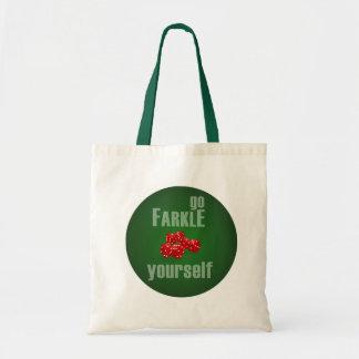 Go Farkle Yourself Tote Bag