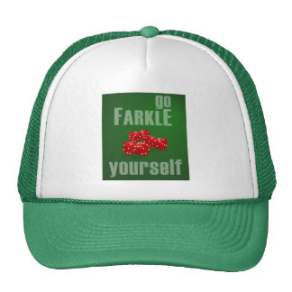 Go Farkle Yourself Trucker Hat