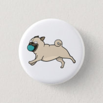Go Fetch! Pug Button