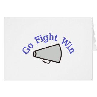 Go, Fight, Win Card