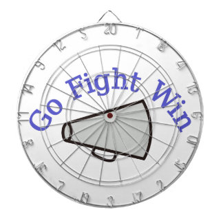 Go, Fight, Win Dart Board