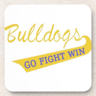 Go, Fight, Win Drink Coaster